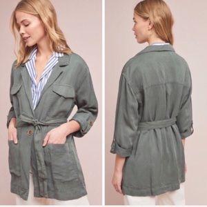 🆕Sanctuary Natural Tencel Linen Surplus Jacket S